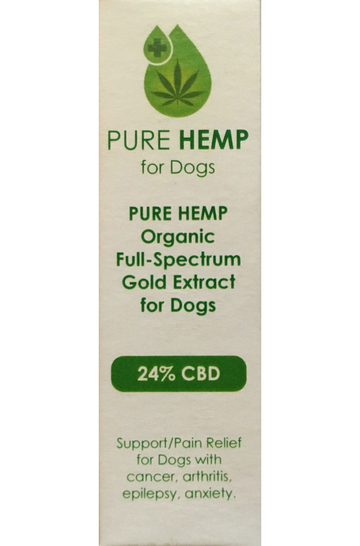 Pure hemp for dogs 24%